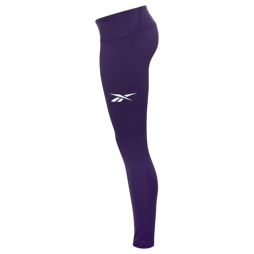 Reebok Leggings »TE Linear Logo Poly«