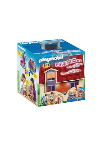 Playmobil® Konstruktions-Spielset »Neues Mitnehm-Puppenhaus (5167), Dollhouse«, Made in Europe kaufen