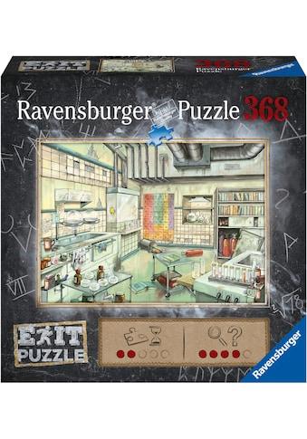 Ravensburger Puzzle »Exit Das Labor«, FSC® - schützt Wald - weltweit; Made in Germany kaufen