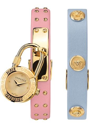 Versace Schweizer Uhr »Medusa Lock Icon, VEDW00219«, (Set, 3 tlg., mit zusätzlichem... kaufen
