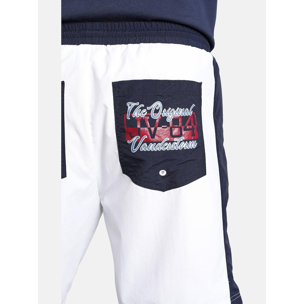 Jan Vanderstorm Bermudas »INGAR«, kurze Shorts, maritimes Design