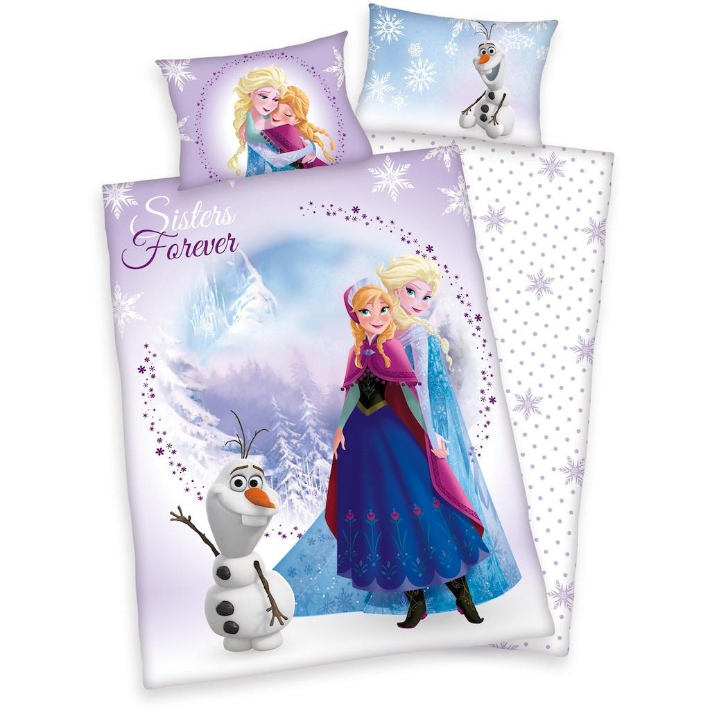 Disney Kinderbettwäsche »Frozen Sisters«, Eiskönigin