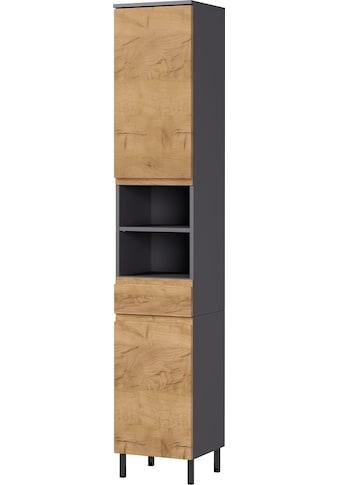 GERMANIA Hochschrank »Scantic«, Breite 34 cm, Badezimmerschrank, 2 Türen, 1... kaufen