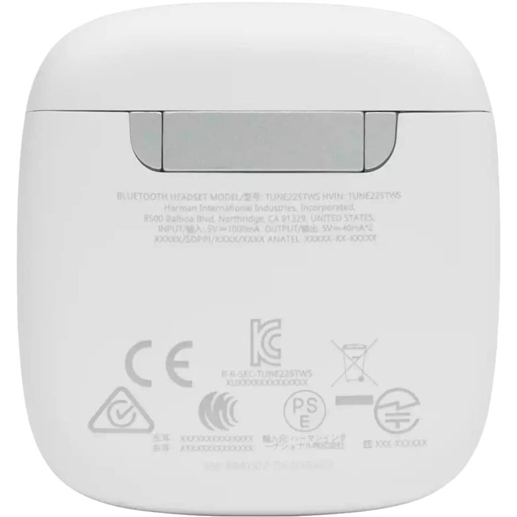 JBL wireless In-Ear-Kopfhörer »TUNE 225 TWS«, Bluetooth-AVRCP Bluetooth, True Wireless-Sprachsteuerung-Freisprechfunktion