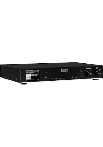 TechniSat Digitalradio (DAB+) »DIGITRADIO 143 HiFi-Tuner«, (Bluetooth-LAN (Ethernet)-WLAN FM-Tuner-Digitalradio (DAB+)-Internetradio ), UKW, WLAN-Internetradio, Bluetooth, Farbdisplay, USB kaufen