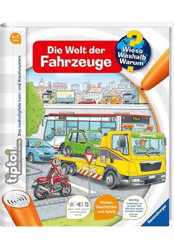 """Ravensburger Buch """"tiptoi® Die Welt der Fahrzeuge"""" kaufen"""