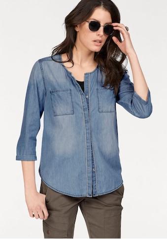 Aniston CASUAL Jeansbluse, mit Verzierung kaufen