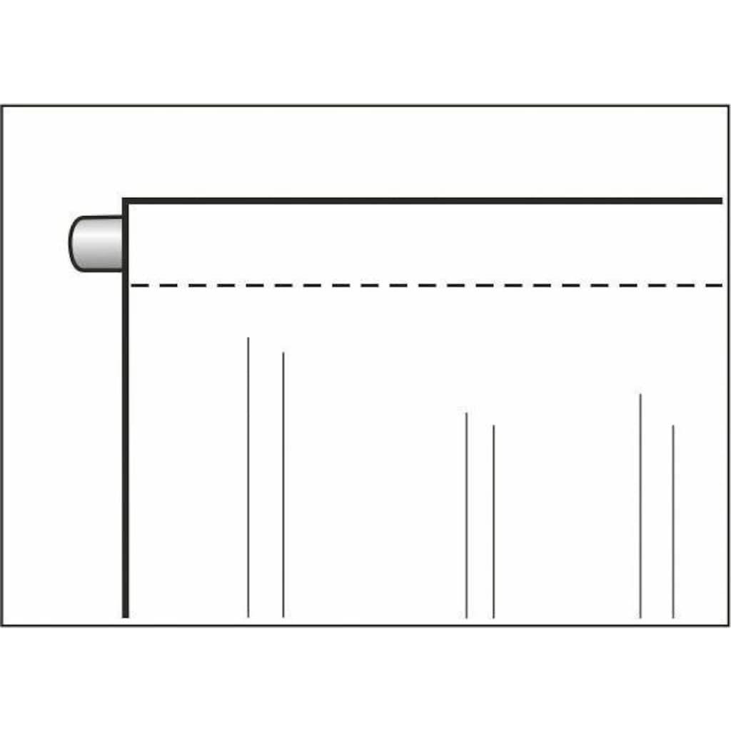 WILLKOMMEN ZUHAUSE by ALBANI GROUP Vorhang »Rentier«, HxB: 225x100, Jacquard-Fensterbild