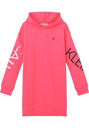 Calvin Klein Jeans Sweatkleid »HERO LOGO HOOD DRESS« kaufen