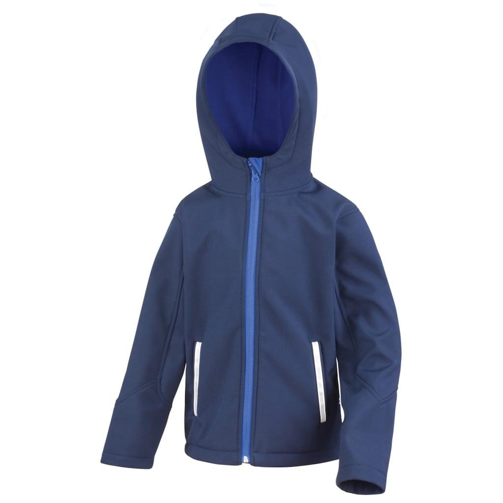 Result Softshelljacke »Core Kinder Junior Softshell-Jacke mit Kapuze«
