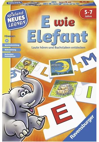 """Ravensburger Spiel, """"E wie Elefant"""" kaufen"""