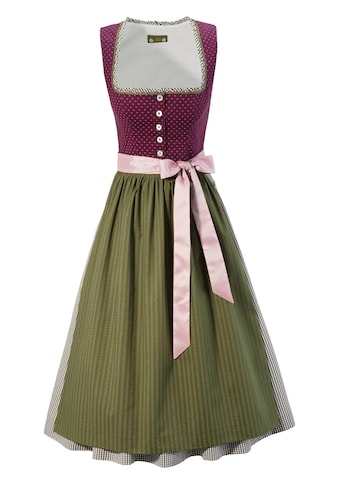 Love Nature Dirndl, (2 tlg.), midi im traditionellem Mustermix - Made in Austria kaufen