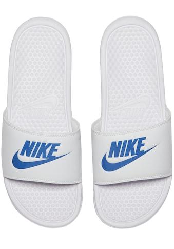 Nike Sportswear Badesandale »Benassi Just do it« kaufen