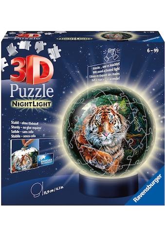 Ravensburger Puzzleball »Nachtlicht - Raubkatzen«, FSC® - schützt Wald - weltweit;... kaufen