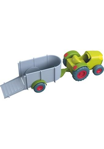 Haba Spielzeug-Traktor »Little Friends - Traktor mit Anhänger« kaufen