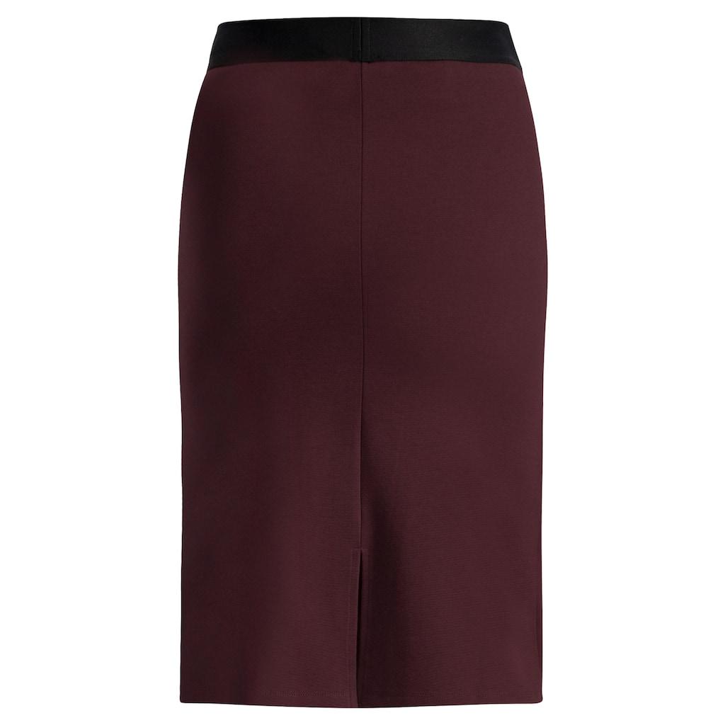 Queen Mum Umstandsrock »Skirt non denim«