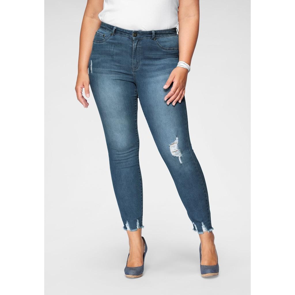 Arizona Skinny-fit-Jeans »Ultra-Stretch«, High Waist
