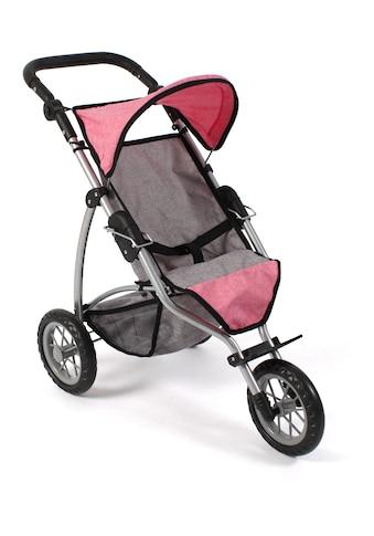 CHIC2000 Puppenbuggy »Leon, melange pink« kaufen