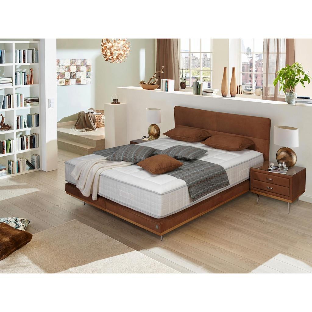 ADA premium Boxspringbett »Teana«, mit Metallfuß und Holzleiste, in 3 Größe