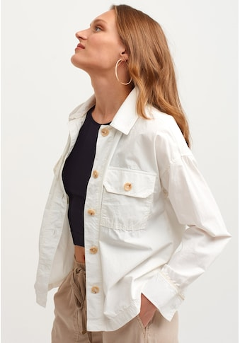 OXXO Kurzjacke, mit modischen Knöpfen kaufen