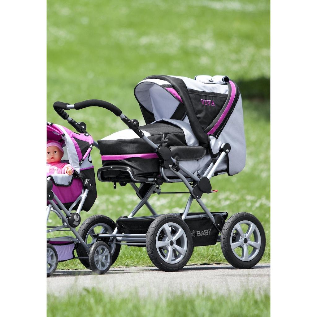 CHIC4BABY Kombi-Kinderwagen »Viva«, 15 kg, mit Lufträdern