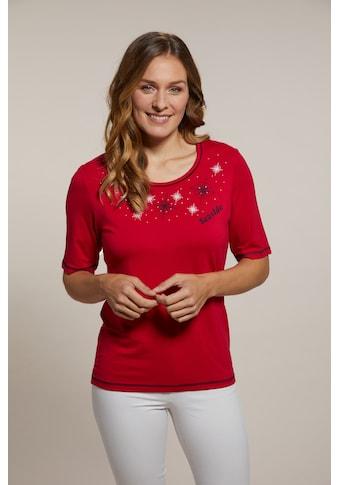 Hajo Kurzarmshirt, mit Motivprint kaufen