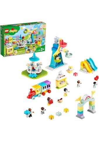 LEGO® Konstruktionsspielsteine »Erlebnispark (10956), LEGO® DUPLO® Town«, (95 St.),... kaufen