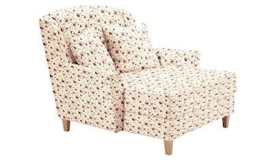 Max Winzer® Sessel »Julia«, mit naturfarbenen Holzfüßen kaufen