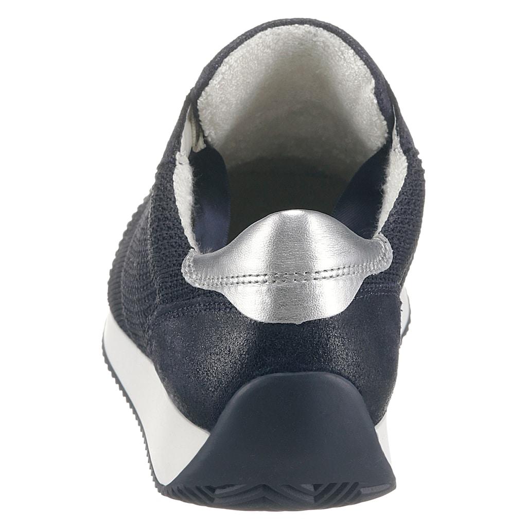 Ara Keilsneaker »Lissabon«, in Strick-Optik