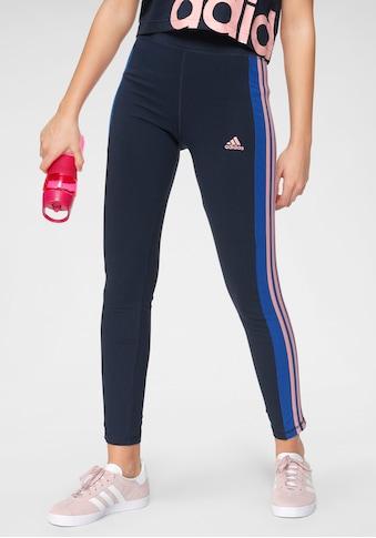adidas Performance Leggings »YOUTH GIRL LINEAR 3 STRIPES TIGHT« kaufen