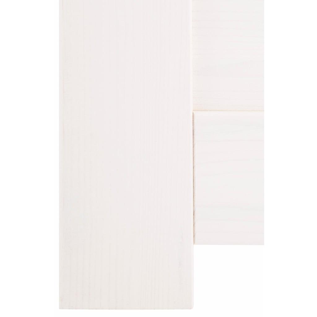 Home affaire Multimediabett »Nils«, mit 5 Schubladen und einem Fach, Liegefläche: 90/200