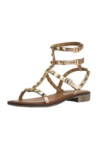 Sandalette mit Nietenbesatz kaufen