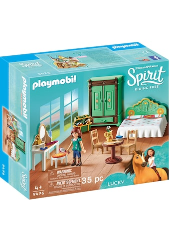 Playmobil® Konstruktions-Spielset »Luckys Schlafzimmer (9476), Spirit Riding Free«, Made in Europe kaufen