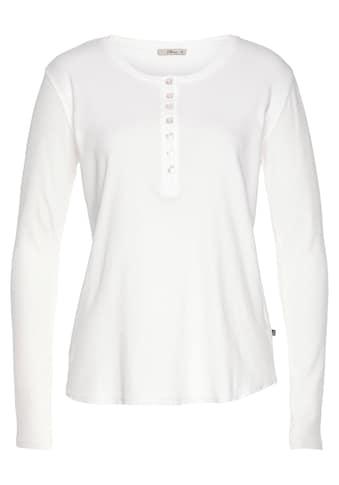 LTB Kurzarmshirt »PELOCO«, mit halber Knopfleiste kaufen