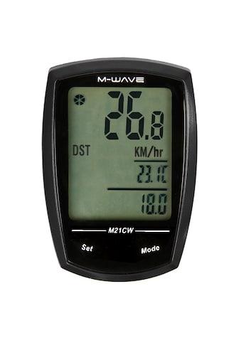 M-WAVE Fahrradcomputer »M21W« kaufen