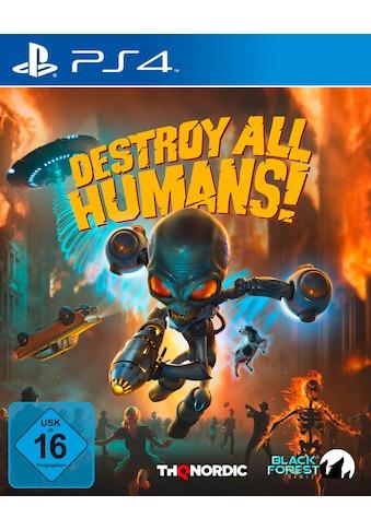 THQ Nordic Spiel »Destroy All Humans!«, PlayStation 4 kaufen