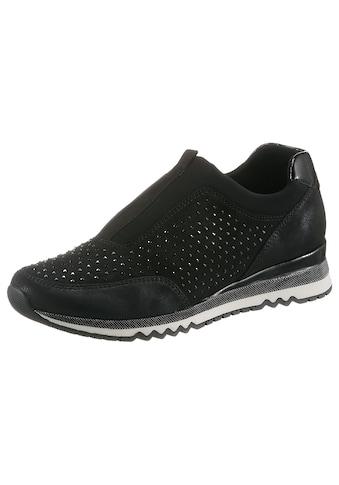 MARCO TOZZI Slip-On Sneaker, mit funkelnden Steinchen kaufen