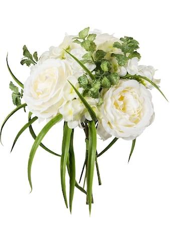 Creativ green Kunstpflanze »Bouquet aus Rosen und Hortensien« kaufen