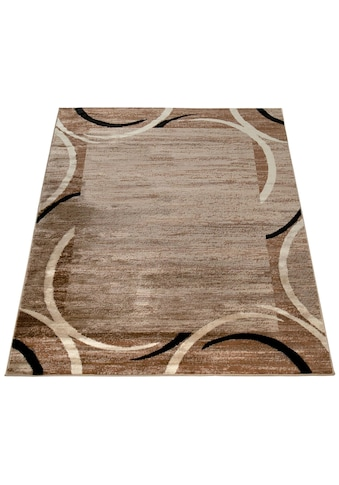 Paco Home Teppich »Sinai 059«, rechteckig, 9 mm Höhe, Kurzflor mit Bordüre, Wohnzimmer, Kundenliebling mit 4,5 Sterne-Bewertung! kaufen