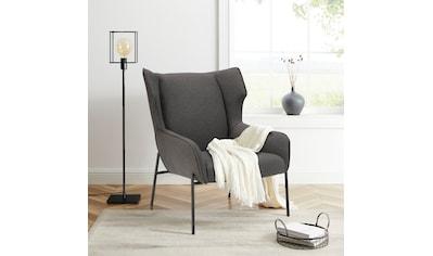 andas Polsterstuhl »Livby Chair«, Design by Morten Georgsen, Ohrensessel, Gestellfarbe... kaufen