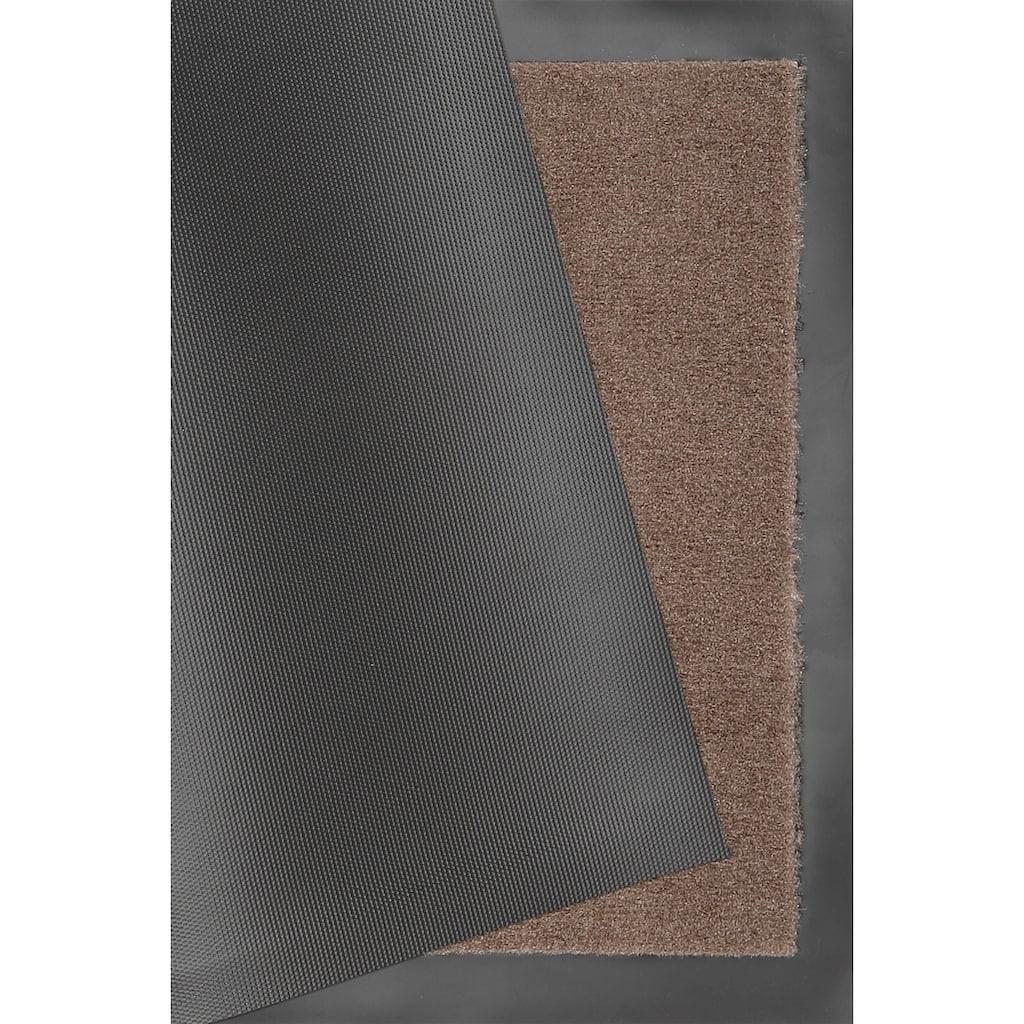 HANSE Home Fußmatte »Eule3«, rechteckig, 7 mm Höhe, Fussabstreifer, Fussabtreter, Schmutzfangläufer, Schmutzfangmatte, Schmutzfangteppich, Schmutzmatte, Türmatte, Türvorleger, In- und Outdoor geeignet