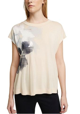 Esprit Collection T-Shirt, mit Glitzer Botanik-Print kaufen