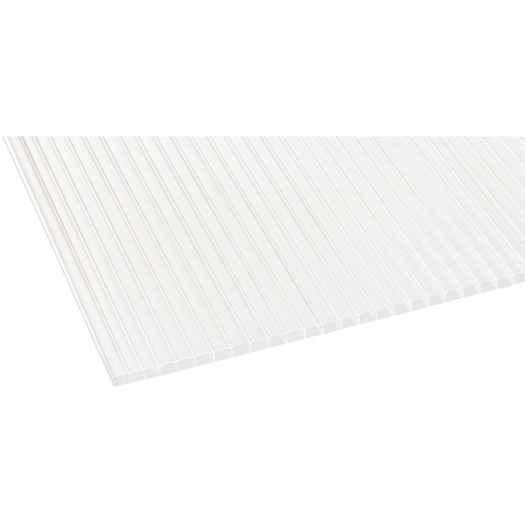 GUTTA Terrassendach »Premium«, BxT: 309x306 cm, Dach Polycarbonat bronce