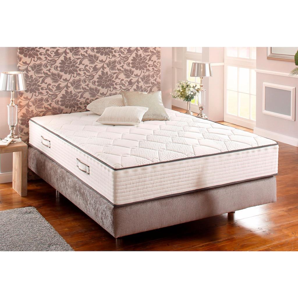 Breckle Komfortschaummatratze »Double Comfort«, (1 St.), Hoch und Formstabil, Bezahlbarer Liegekomfort für den gehobenen Anspruch