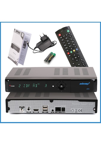 Ankaro SAT-Receiver »ANK AVA UHD 4K«, PVR Ready, IP TV Ready kaufen