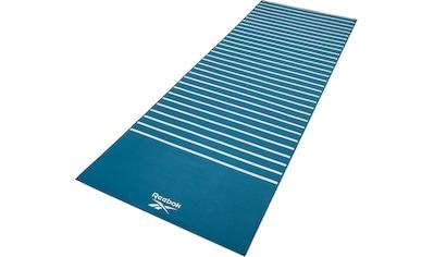 Reebok Yogamatte »Reebok Yogamatte mit Streifen- beidseitig, rutschfest« kaufen