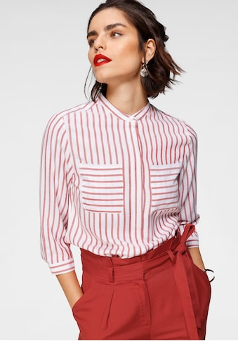 Tamaris Hemdbluse, mit Stehkragen kaufen