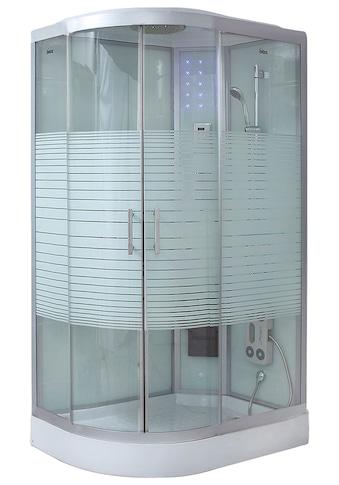 HOME DELUXE Komplettdusche »White Pearl«, mit LED-Beleuchtung kaufen