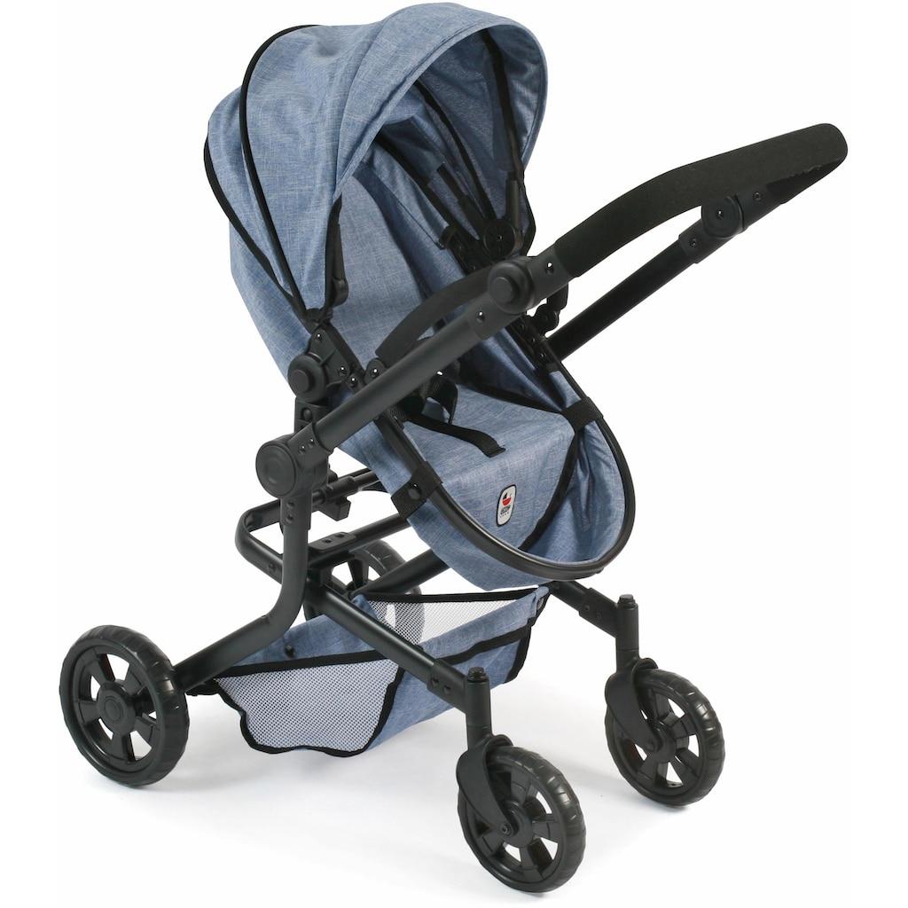 CHIC2000 Kombi-Puppenwagen »Mika, blau«
