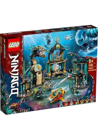 LEGO® Konstruktionsspielsteine »Tempel des unendlichen Ozeans (71755), LEGO®... kaufen